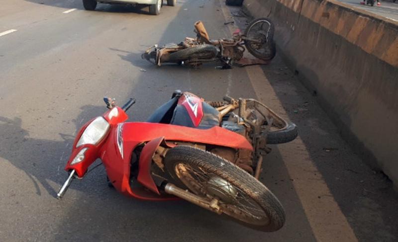 Dù là ô tô hay xe máy thì khi xảy ra tai nạn cũng báo hiệu điềm xấu.